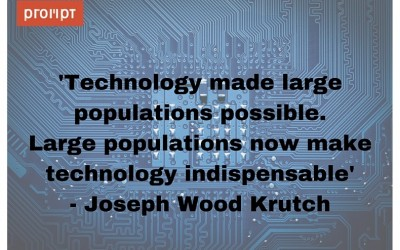 Tech quote: Joseph Wood Krutch